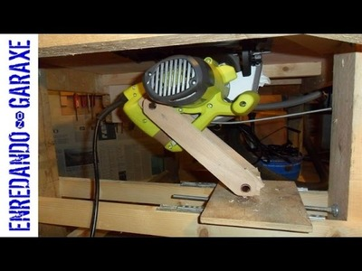How to make a table saw lift part 2