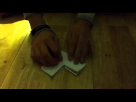 How to make an easy table (out of paper)