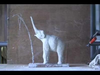 How to Make an Elephant in Clay (3) Khwan Barton, artist