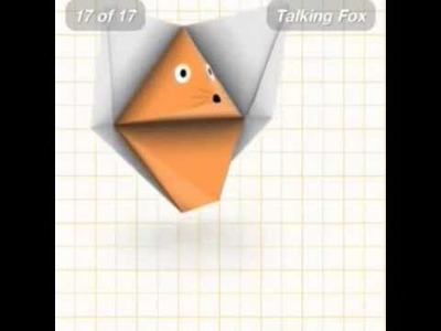 How to make an origami animals Talking Fox