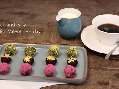 How To Make Chocolate Truffles #JLCook