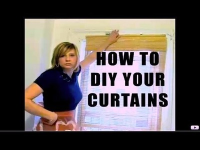 How To Make Curtains, Decor It Yourself