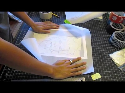 How To Make Duct Tape Portraits