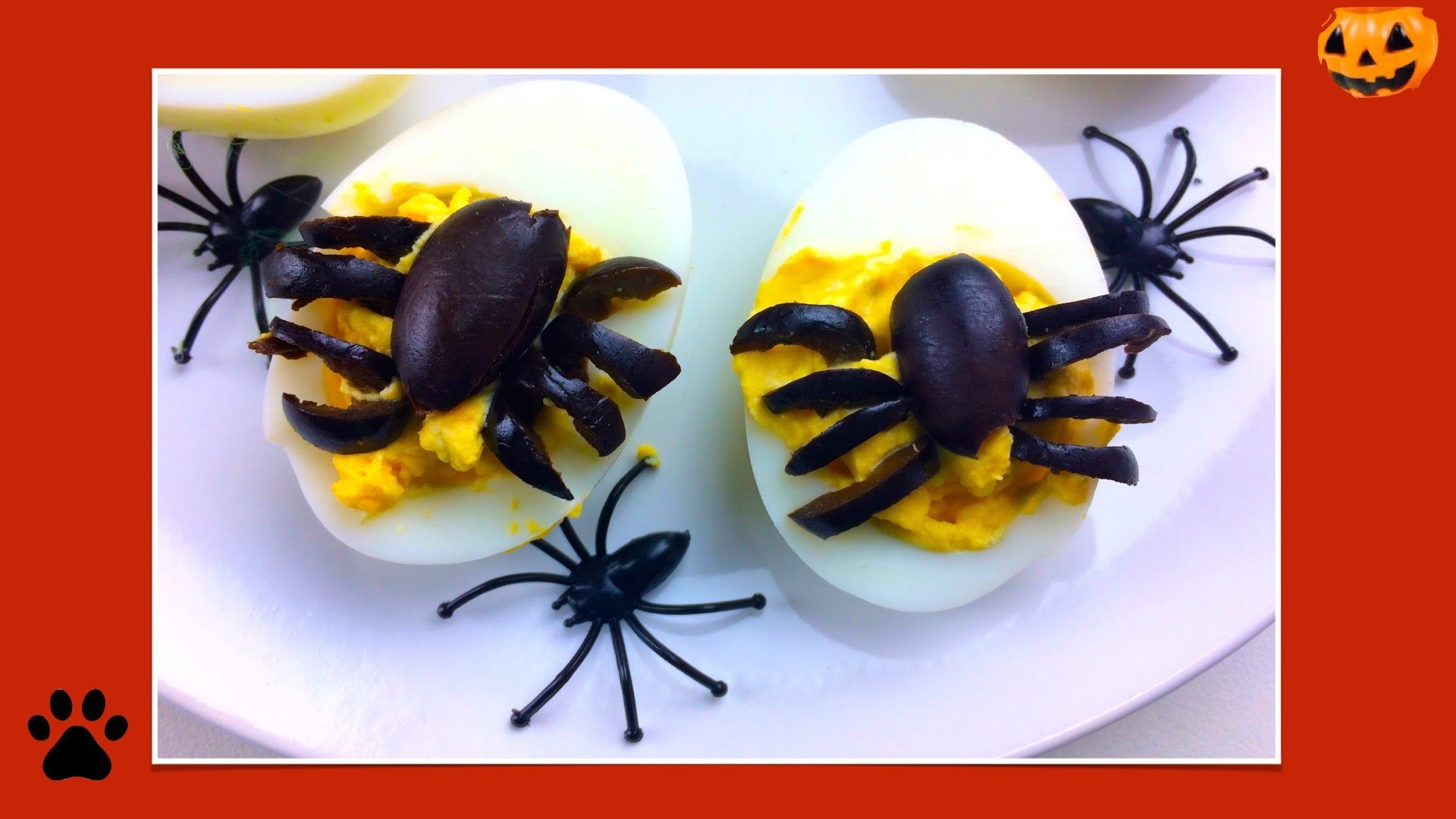 How to make HALLOWEEN SPIDERS & EYEBALLS FOR DOGS - DIY Dog Food by Cooking For Dogs