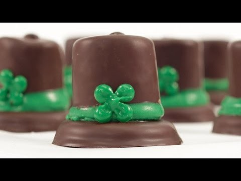 How to Make Leprechaun Hats With Thin Mints For St. Patrick's Day