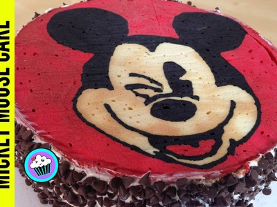 How to make Mickey Mouse Cake - Pinch of Luck