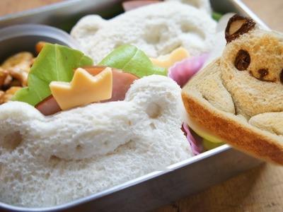 How to Make Pop-Up Panda Toast & Bento Sandwiches