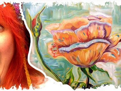 How to paint   Rose and Bud   Art Sherpa