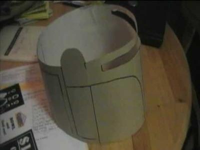 Jango Fett Costume Episode IV part 1: A New Kind of Cardboard
