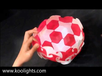Koolights : How to assemble120 elements Ball