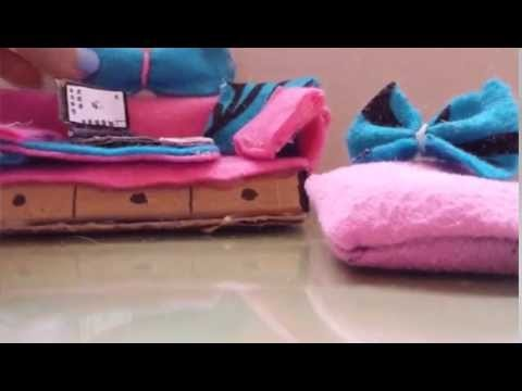 LPS DIY (12) how to make an Lps bed