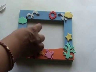 Make your own Foam Photo Frame