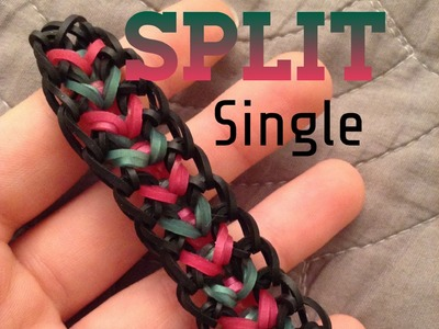 NEW Split Single Rainbow Loom Bracelet