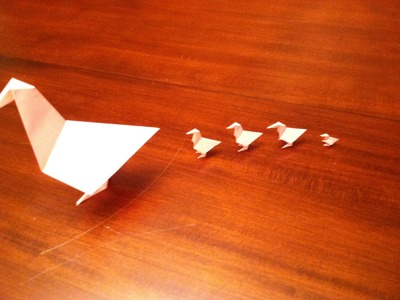 Origami Chickens Tutorial - How to make Origami Chickens