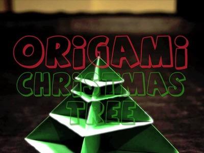 Origami Christmas Tree Animation (Stop Motion)