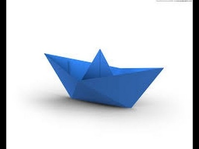Origami - How to Make a Paper Boat that Floats