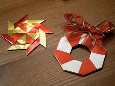Origami tutorial - Magic star