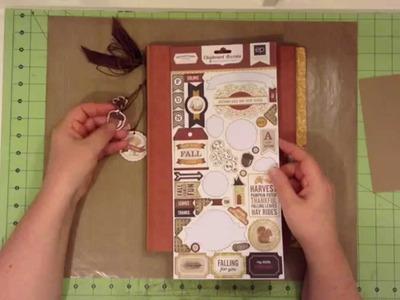 Paper Architecture With Sabrina - File Folder 7 - Thanksgiving - Walk-through Tour