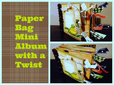 Paper Bag Mini With A Twist, No Covers