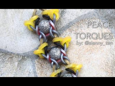 PEACE TORQUES Hook Only bracelet tutorial