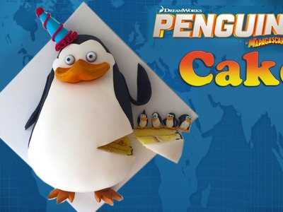 PENGUIN CAKE How To Cook That Penguins of Madagascar Private