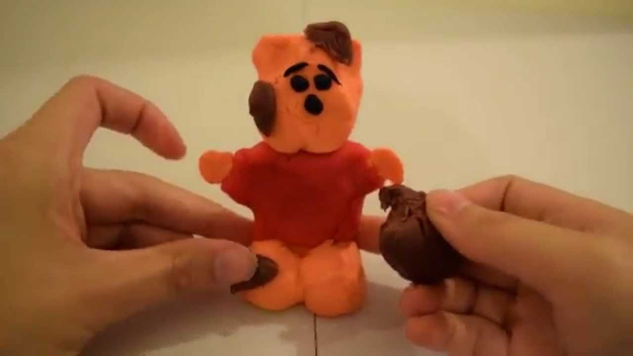 Play Doh Winnie The Pooh How To Make Playdough Disney