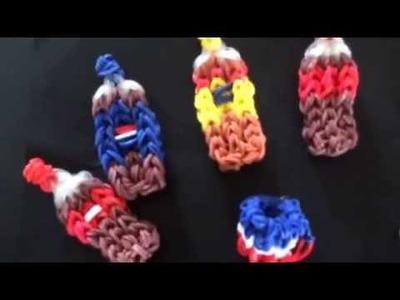 Rainbow loom food - sodas -