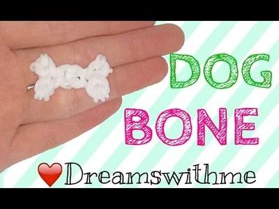 Rainbowloom dog bone. ( happy animals)