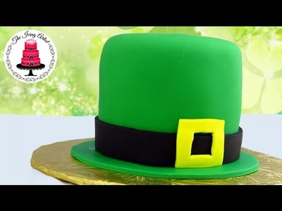 St Patrick's Day Leprechaun Hat Cake - How To With The Icing Artist