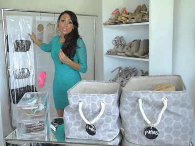 Storage Ideas for Shoes & Purses : Fashion & Style Tips