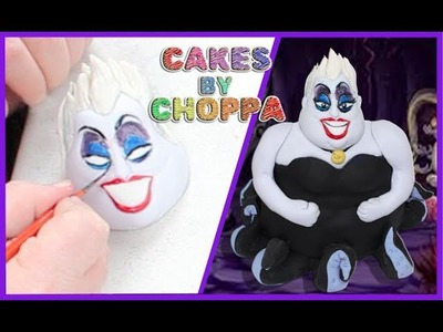 Ursula Cake - The Little Mermaid | Feat: @GlowPinkstah (How To)