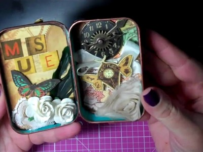 YourPaperPantry Mixed Media Altered Tin Swap