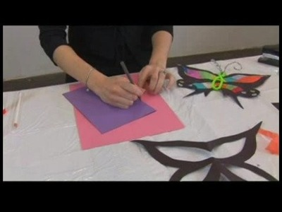 Children's Crafts: Paper Butterfly Sun Catchers : Butterfly Sun Catchers: Choosing Shape