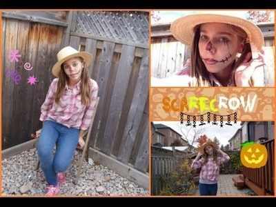 ~DIY ScareCrow costume~ Halloween How to~