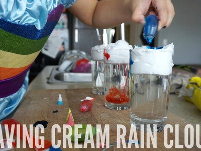DIY SHAVING CREAM RAIN CLOUDS | AmandaMuse