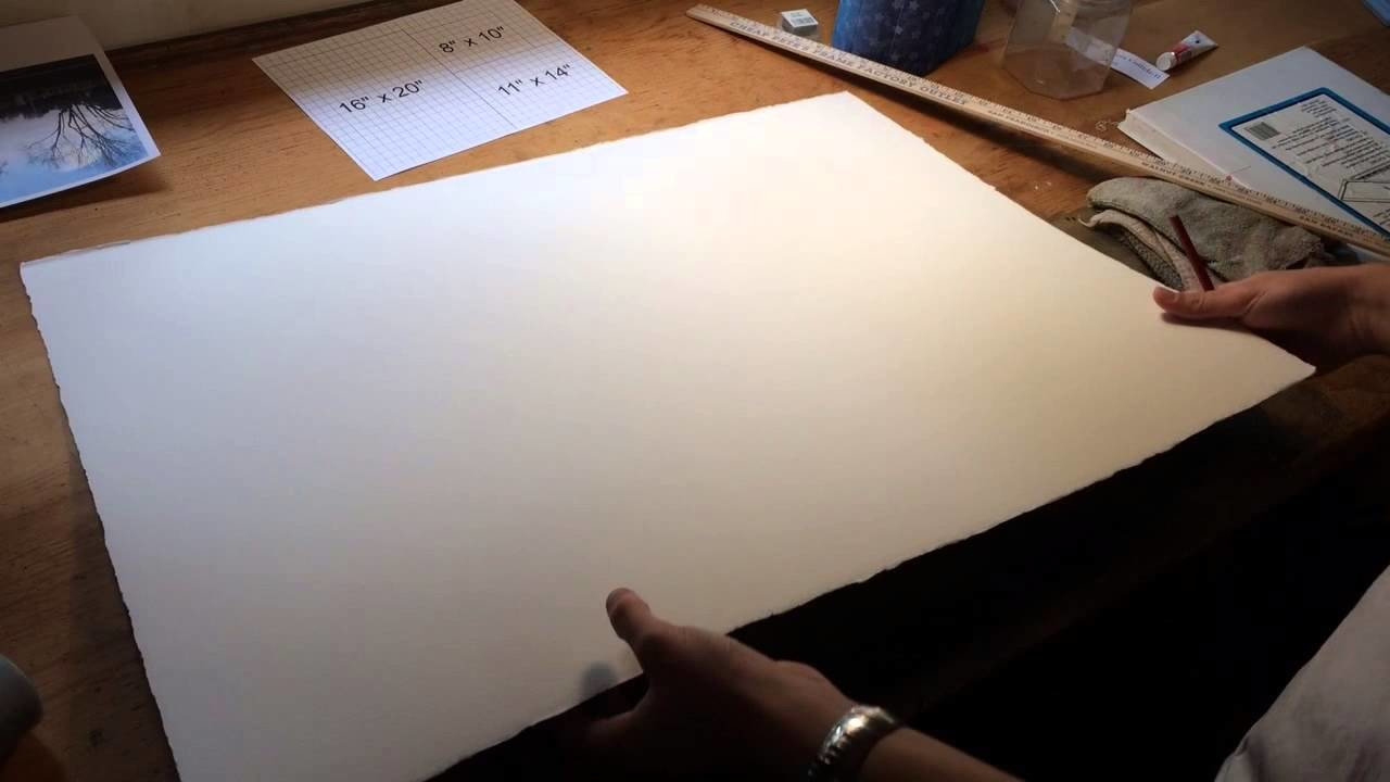 HFA10 - How to size your watercolor paper