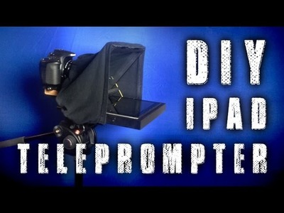 How To: Build DIY iPad Teleprompter for 15mm Rail Mount