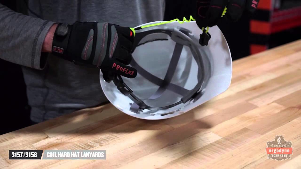 How to Connect a Hard Hat Lanyard to Keep You Safe