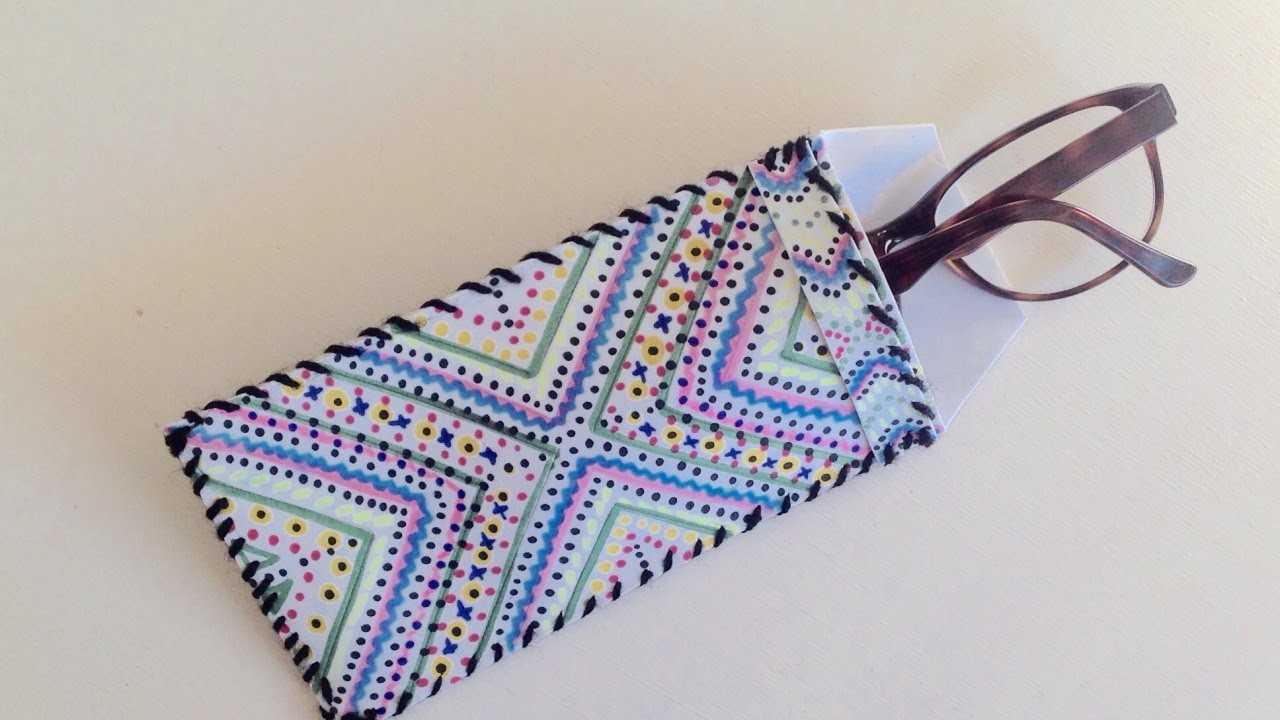 How To Design a Pretty Glasses Case from Foam - DIY Style Tutorial - Guidecentral