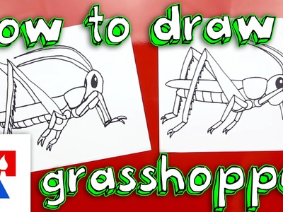 How To Draw A Grasshopper