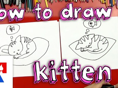 How To Draw A Kitten (For Young Artists)