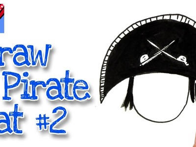 Pirate Hat Drawing Pirate Hat Draw...