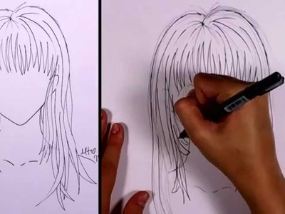 How to Draw Manga - Long Hair (girl) | MLT