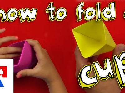 How To Fold An Origami Cup