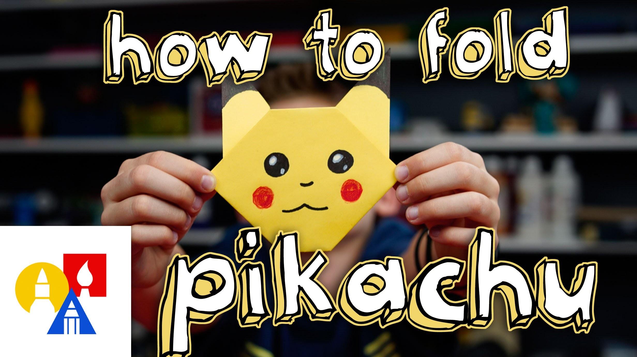 How To Fold Pikachu
