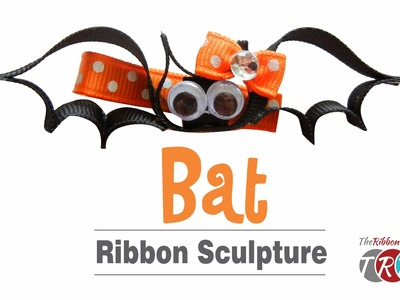 How to Make a Bat Ribbon Sculpture - TheRibbonRetreat.com