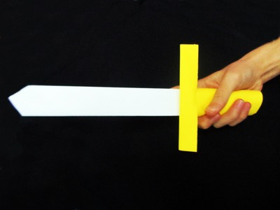 ★ How to make a cool origami paper sword - Paper Swords ★
