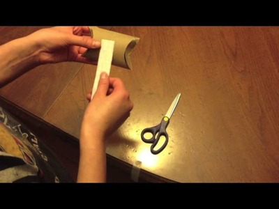 How to Make a Gift Box Out of a Toilet Paper Roll