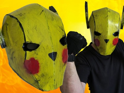 How to Make a Hardcore Pikachu Cosplay Helmet
