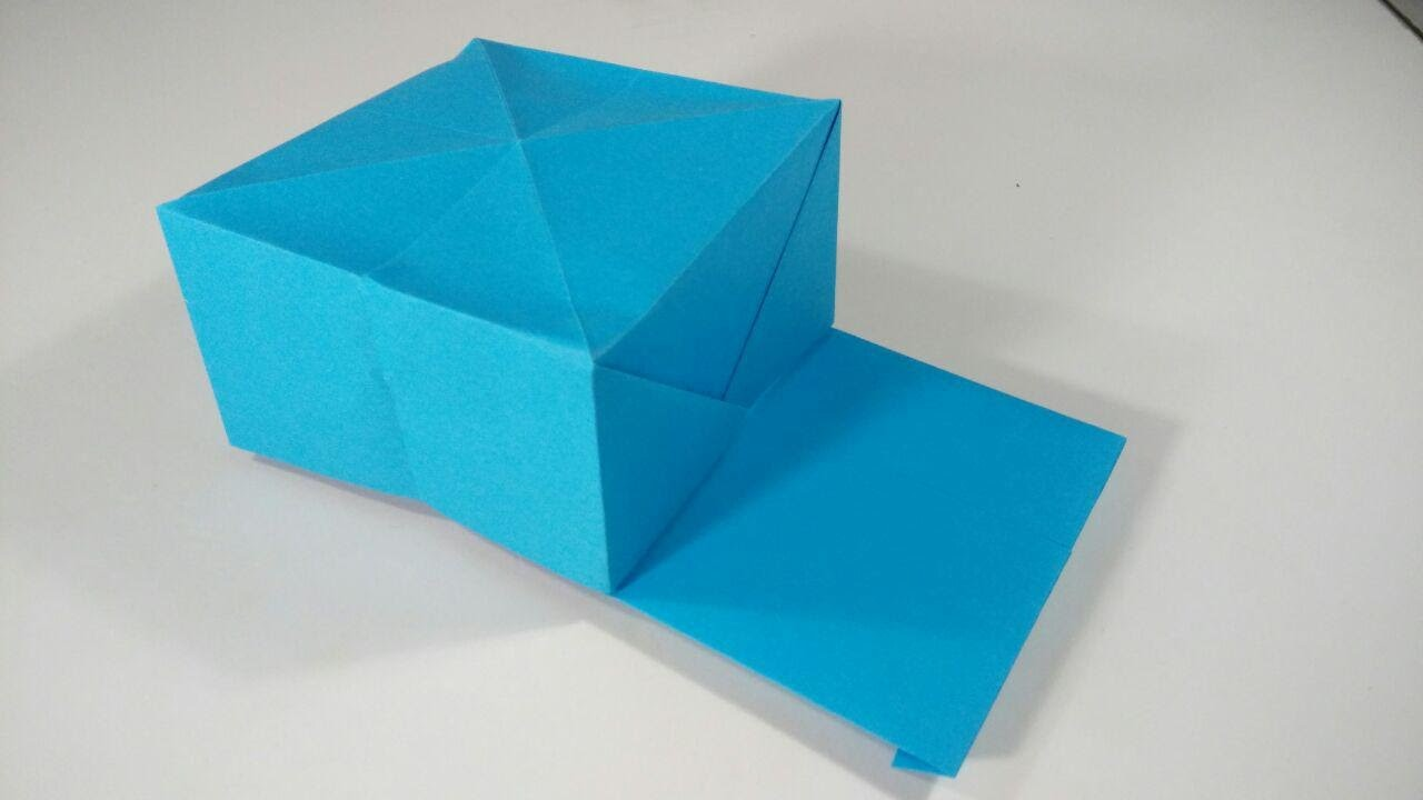 How to make a  paper cap - Origami
